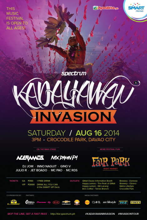 Kadayawan Invasion 2014
